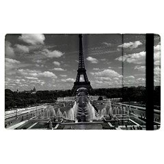 Vintage France Paris Fontain Chaillot Tour Eiffel 1970 Apple iPad 2 Flip Case