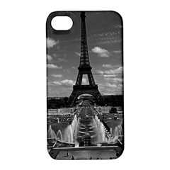 Vintage France Paris Fontain Chaillot Tour Eiffel 1970 Apple iPhone 4/4S Hardshell Case with Stand