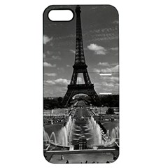 Vintage France Paris Fontain Chaillot Tour Eiffel 1970 Apple iPhone 5 Hardshell Case with Stand