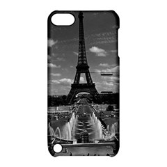Vintage France Paris Fontain Chaillot Tour Eiffel 1970 Apple iPod Touch 5 Hardshell Case with Stand