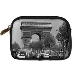 Vinatge France Paris Triumphal arch 1970 Compact Camera Case