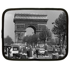Vinatge France Paris Triumphal arch 1970 15  Netbook Case