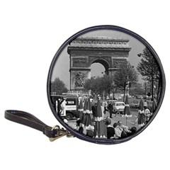 Vinatge France Paris Triumphal Arch 1970 Cd Wallet