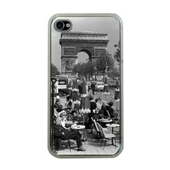 Vinatge France Paris Triumphal Arch 1970 Apple Iphone 4 Case (clear)