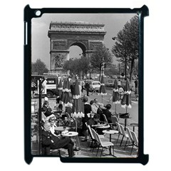 Vinatge France Paris Triumphal arch 1970 Apple iPad 2 Case (Black)