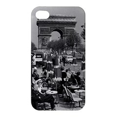 Vinatge France Paris Triumphal Arch 1970 Apple Iphone 4/4s Hardshell Case