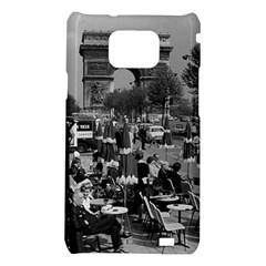 Vinatge France Paris Triumphal arch 1970 Samsung Galaxy S II i9100 Hardshell Case