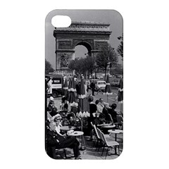 Vinatge France Paris Triumphal arch 1970 Apple iPhone 4/4S Premium Hardshell Case