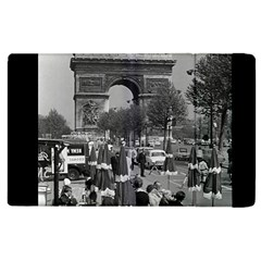 Vinatge France Paris Triumphal arch 1970 Apple iPad 2 Flip Case