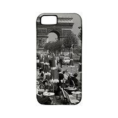 Vinatge France Paris Triumphal arch 1970 Apple iPhone 5 Classic Hardshell Case (PC+Silicone)
