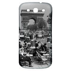 Vinatge France Paris Triumphal arch 1970 Samsung Galaxy S3 S III Classic Hardshell Back Case