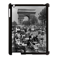 Vinatge France Paris Triumphal Arch 1970 Apple Ipad 3/4 Case (black)