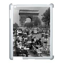 Vinatge France Paris Triumphal Arch 1970 Apple Ipad 3/4 Case (white)