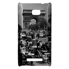Vinatge France Paris Triumphal arch 1970 HTC 8X Hardshell Case