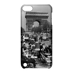 Vinatge France Paris Triumphal arch 1970 Apple iPod Touch 5 Hardshell Case with Stand