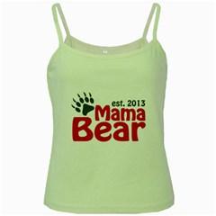 Mama Bear Claw 2013 White Spaghetti Top