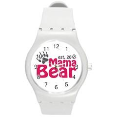 Mama Bear Claw 2013 Round Plastic Sport Watch Medium