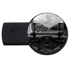 Vintage France Paris Triumphal Arch Unknown Soldier 2gb Usb Flash Drive (round)