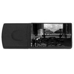 Vintage France Paris Triumphal arch Unknown soldier 2Gb USB Flash Drive (Rectangle)