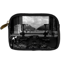Vintage France Paris Triumphal Arch Unknown Soldier Compact Camera Case