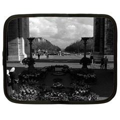 Vintage France Paris Triumphal arch Unknown soldier 13  Netbook Case