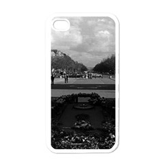 Vintage France Paris Triumphal Arch Unknown Soldier White Apple Iphone 4 Case