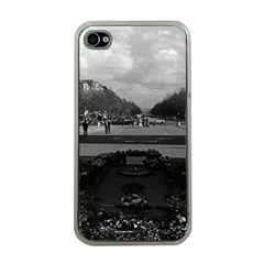 Vintage France Paris Triumphal arch Unknown soldier Apple iPhone 4 Case (Clear)