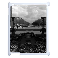 Vintage France Paris Triumphal Arch Unknown Soldier Apple Ipad 2 Case (white)