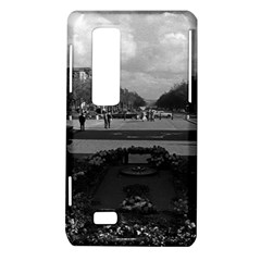 Vintage France Paris Triumphal arch Unknown soldier LG Optimus 3D P920 / Thrill 4G P925 Hardshell Case