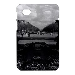 Vintage France Paris Triumphal arch Unknown soldier Samsung Galaxy Tab 7  P1000 Hardshell Case