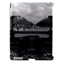 Vintage France Paris Triumphal Arch Unknown Soldier Apple Ipad 3/4 Hardshell Case (compatible With Smart Cover)