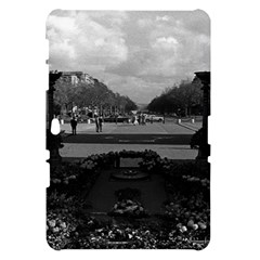 Vintage France Paris Triumphal arch Unknown soldier Samsung Galaxy Tab 10.1  P7500 Hardshell Case