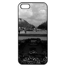 Vintage France Paris Triumphal arch Unknown soldier Apple iPhone 5 Seamless Case (Black)