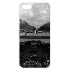 Vintage France Paris Triumphal arch Unknown soldier Apple iPhone 5 Seamless Case (White)