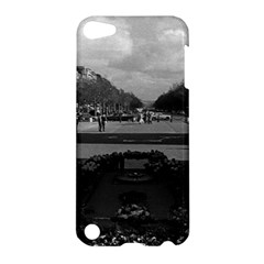 Vintage France Paris Triumphal arch Unknown soldier Apple iPod Touch 5 Hardshell Case