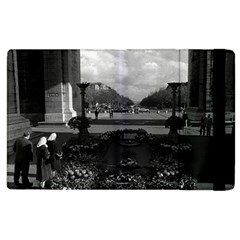 Vintage France Paris Triumphal arch Unknown soldier Apple iPad 2 Flip Case