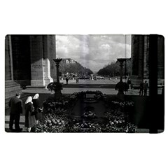 Vintage France Paris Triumphal arch Unknown soldier Apple iPad 3/4 Flip Case