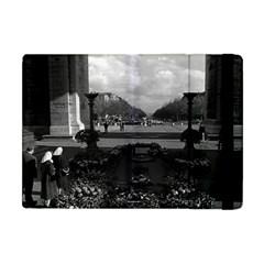 Vintage France Paris Triumphal arch Unknown soldier Apple iPad Mini Flip Case