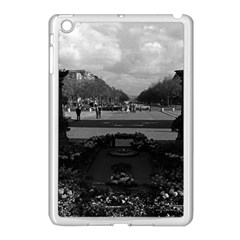 Vintage France Paris Triumphal Arch Unknown Soldier Apple Ipad Mini Case (white)