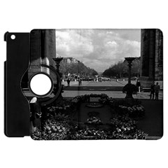 Vintage France Paris Triumphal arch Unknown soldier Apple iPad Mini Flip 360 Case