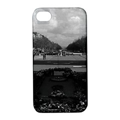 Vintage France Paris Triumphal arch Unknown soldier Apple iPhone 4/4S Hardshell Case with Stand