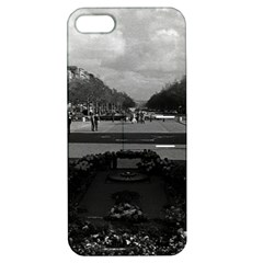 Vintage France Paris Triumphal arch Unknown soldier Apple iPhone 5 Hardshell Case with Stand