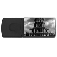 Vintage France Paris Church Saint Louis des Invalides 4Gb USB Flash Drive (Rectangle)