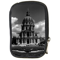 Vintage France Paris Church Saint Louis des Invalides Digital Camera Case