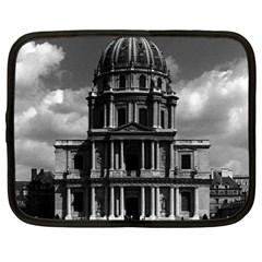 Vintage France Paris Church Saint Louis des Invalides 15  Netbook Case
