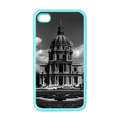 Vintage France Paris Church Saint Louis des Invalides Apple iPhone 4 Case (Color)