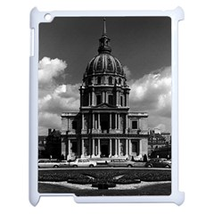 Vintage France Paris Church Saint Louis des Invalides Apple iPad 2 Case (White)