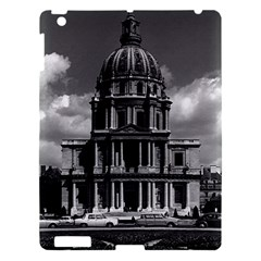Vintage France Paris Church Saint Louis Des Invalides Apple Ipad 3/4 Hardshell Case