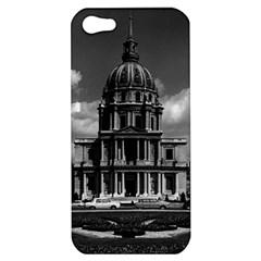Vintage France Paris Church Saint Louis Des Invalides Apple Iphone 5 Hardshell Case