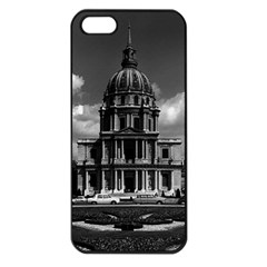 Vintage France Paris Church Saint Louis des Invalides Apple iPhone 5 Seamless Case (Black)